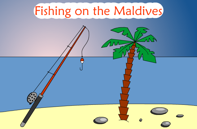Fishing one the Maldives